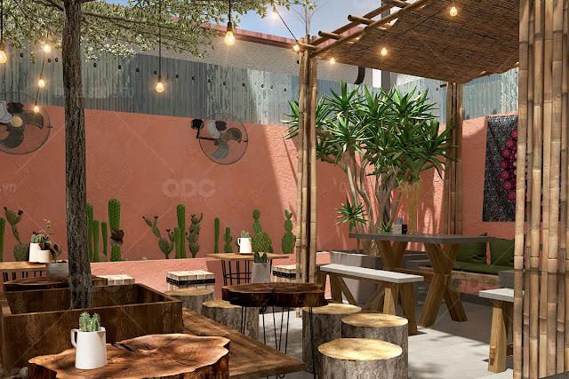 thiet ke quan cafe megustas 03 Kinh nghiệm lựa chọn vị trí mở nhà hàng thuận lợi