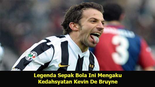 Legenda Sepak Bola Ini Mengaku Kedahsyatan Kevin De Bruyne