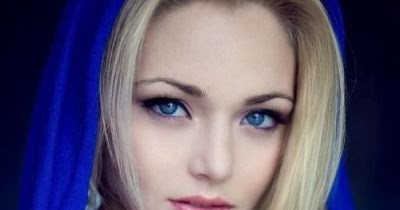 most beautiful girl blue - photo #12