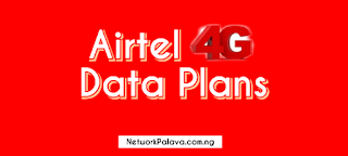 Airtel 4G Data Plans