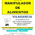 💡 Calidaria: Cursos de Manipulador de Alimentos | 24-25may