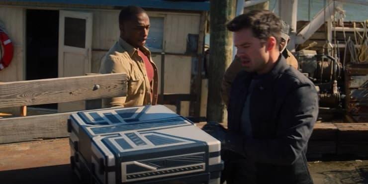 «Сокол и Зимний Солдат» (2021) - все отсылки и пасхалки в сериале Marvel. Спойлеры! - 69