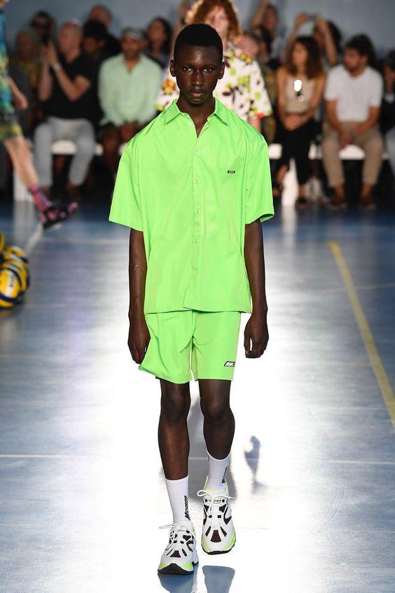 roupa neon -  blog meio tipo assim moda - monocromático -  verde - tendencia