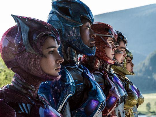 Pósters de personajes del remake de 'Power Rangers'