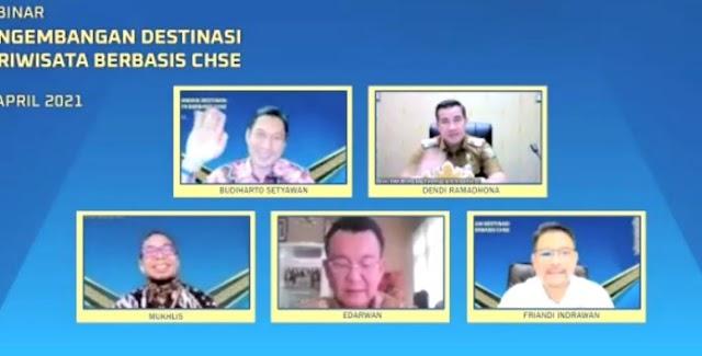 Bank Indonesia Lampung Gelar Webinar Pengembangan Wisata Berbasis CHSE