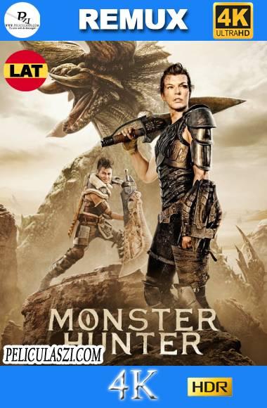 Monster Hunter: La Cacería Comienza (2020) Ultra HD REMUX 4K HDR Dual-Latino VIP