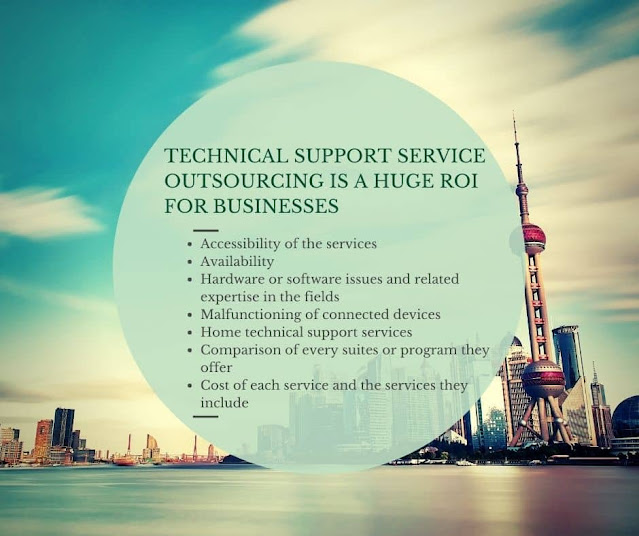 Technical Support Service Outsourcing is a Huge Return on Investment for Businesses