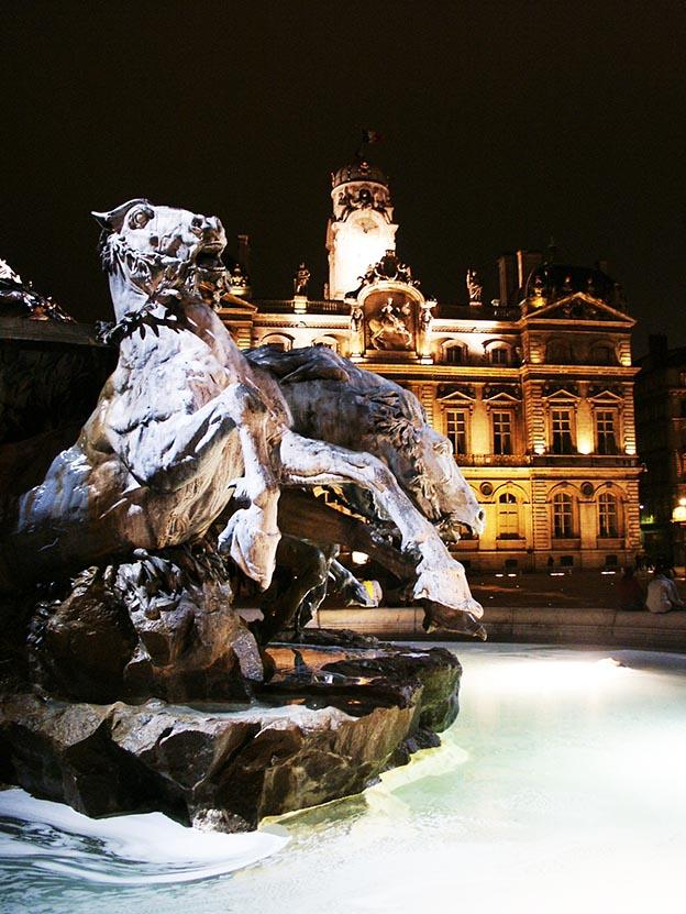 Fontana Bartholdi Lione