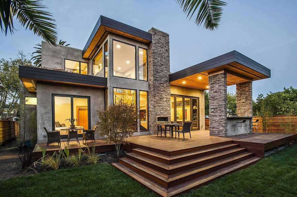 Luxury Homes: Burlingame Rustic-Luxurious Mansion