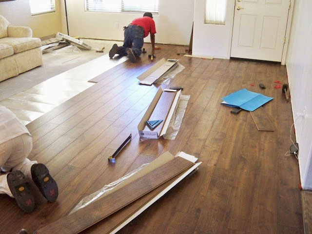 A Stroll Thru Life Living Room Reveal New Floors