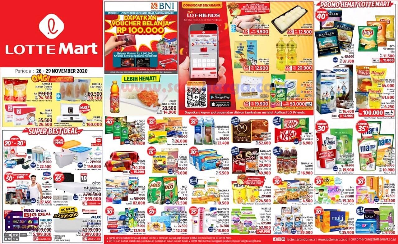 Katalog Promo Lottemart Weekend 26 - 29 November 2020