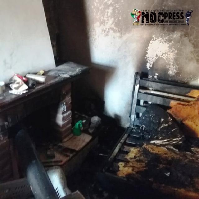 ULTIM'ORA. Anzano di Puglia (FG). Tragedia sfiorata. In fiamme un anziano signore