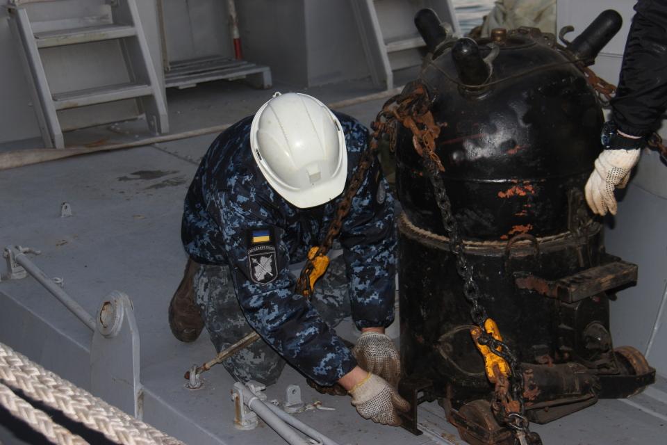 ВМСУ готується до мінування десантно-небезпечної ділянки узбережжя Азовського моря