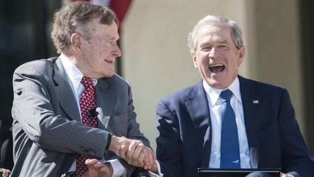 Mantan Presiden AS, George H.W Bush Tutup Usia