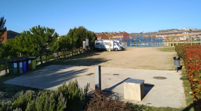 Àrea d'autocaravanes de Santa Coloma de Queralt