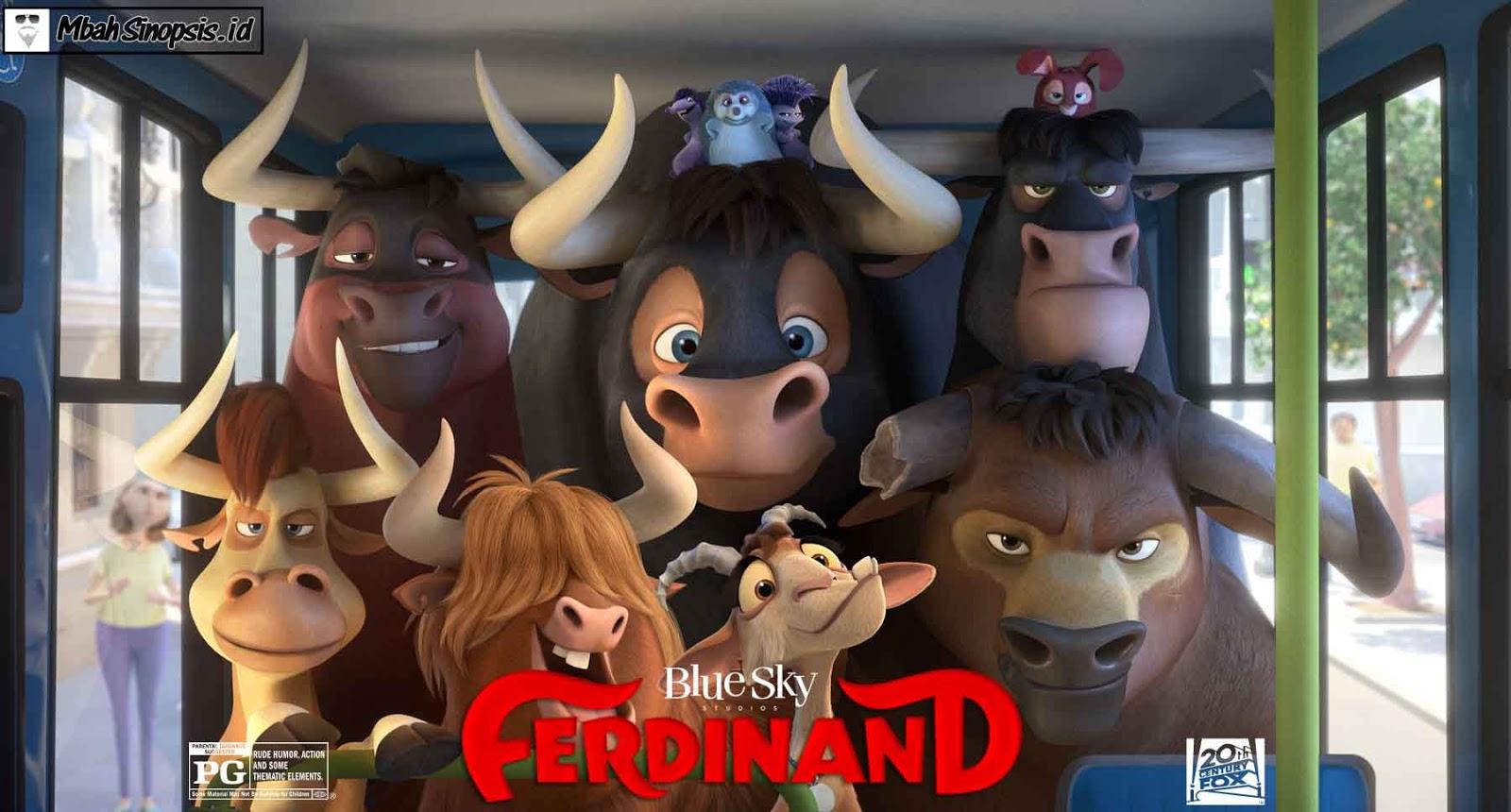 Sinopsis Film Ferdinand 2017 Mbah Sinopsis Rekomendasi
