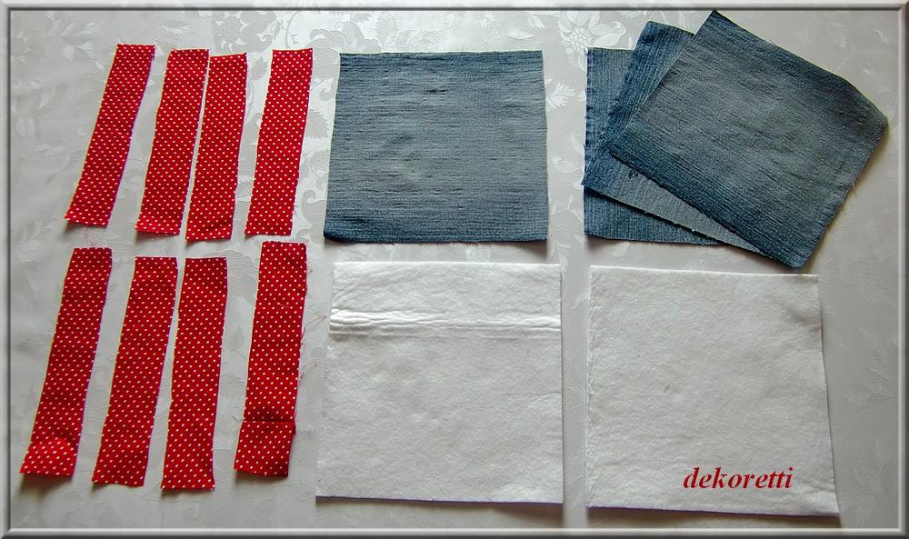 dekoretti s welt topflappen aus alten jeans n hen. Black Bedroom Furniture Sets. Home Design Ideas