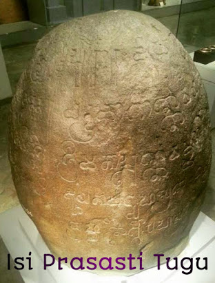 Isi Prasasti Tugu, Prasasti Tugu, Peninggalan Kerajaan Tarumanegara