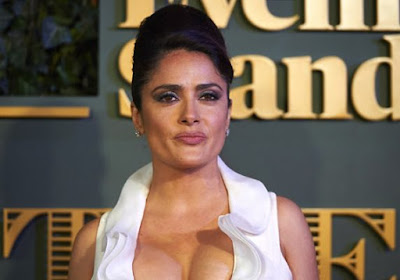 Salma Hayek Long Wavy Formal and Latest Hairstyle Photos Update