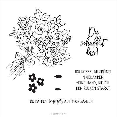 Stempelset Blumen der Freundschaft in Deutsch Stampin Up
