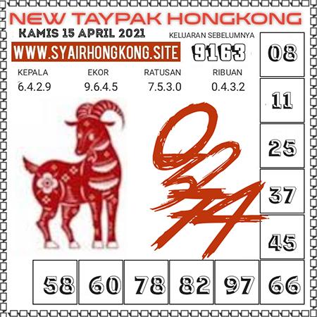 Prediksi New Taypak Hongkong Kamis 15 April 2021