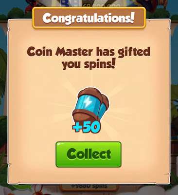 FREE 50 SPINS COIN MASTER LINK 2020
