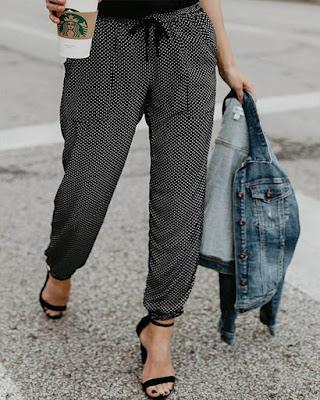 pantalon con puntos