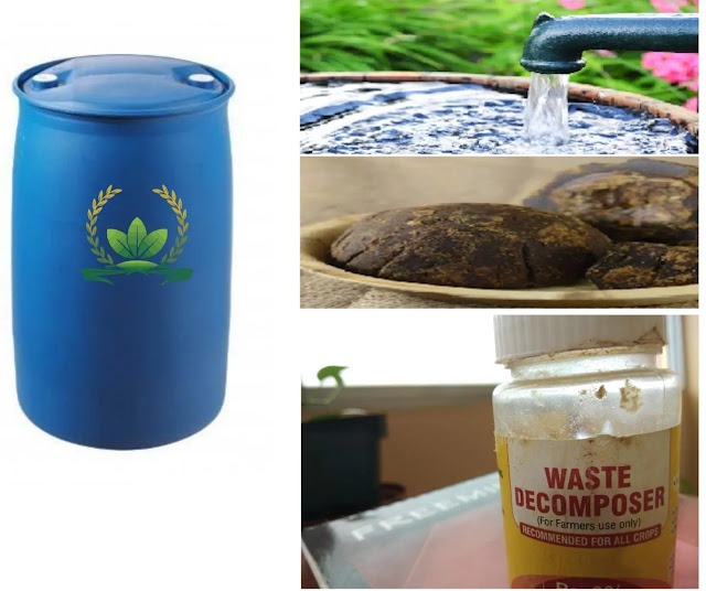 How to prepare solution of waste decomposer?