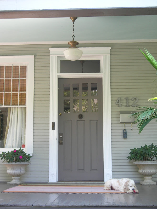& My Little Bungalow: A Welcoming Front Entrance
