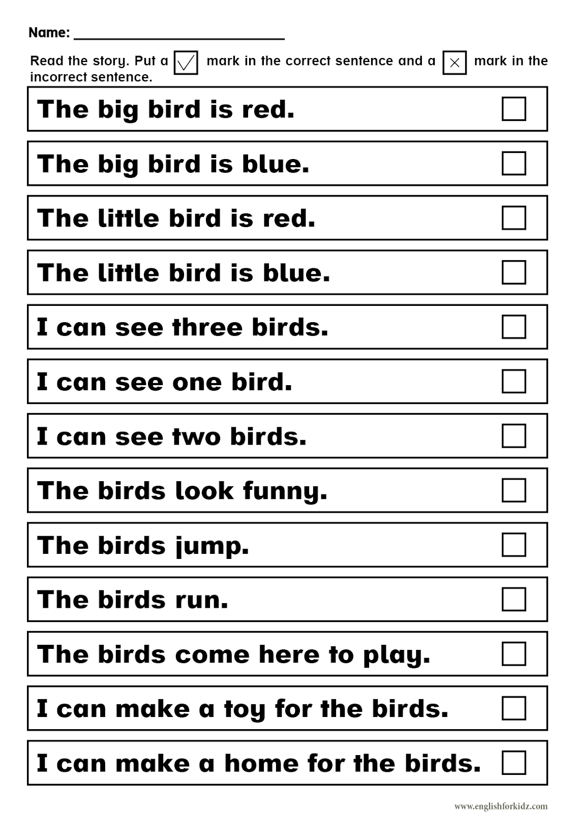 hight resolution of Sight Words Reading Passages and Worksheets: Pre-Primer.