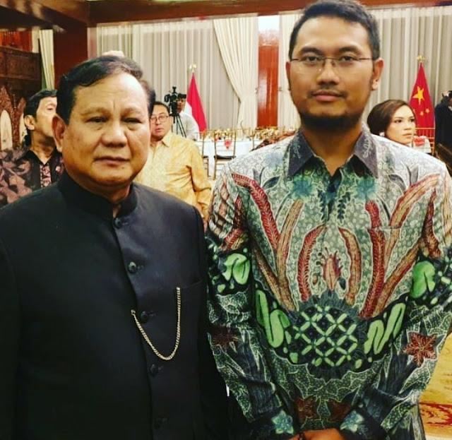Jadi Bupati Termuda, Prabowo Kenalkan Andi Seto Dihadapan Menlu dan Dubes China