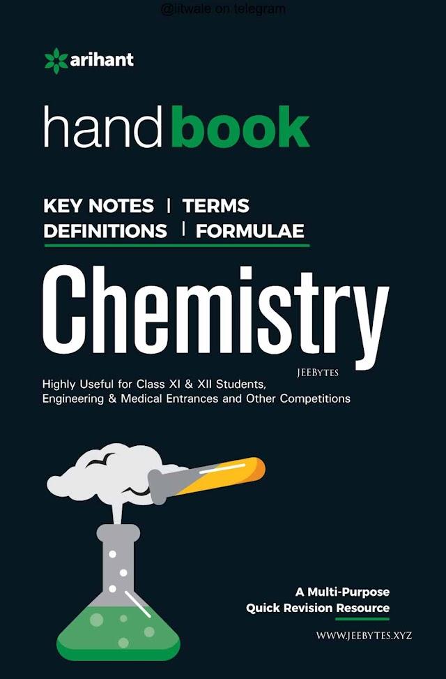Arihant: Handbook for Chemistry For JEE &NEET
