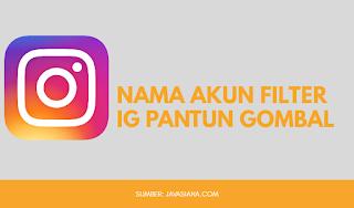 Nama Filter IG Pantun Gombal