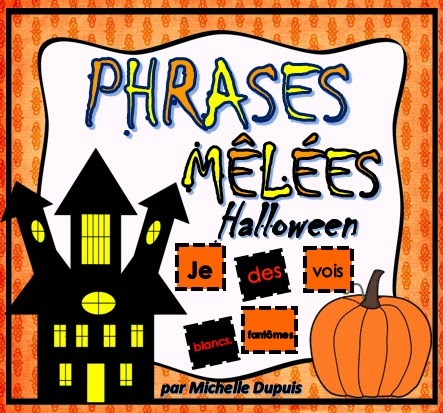 Halloween - phrases mêlées