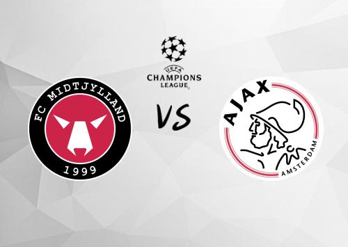 Midtjylland vs Ajax  Resumen