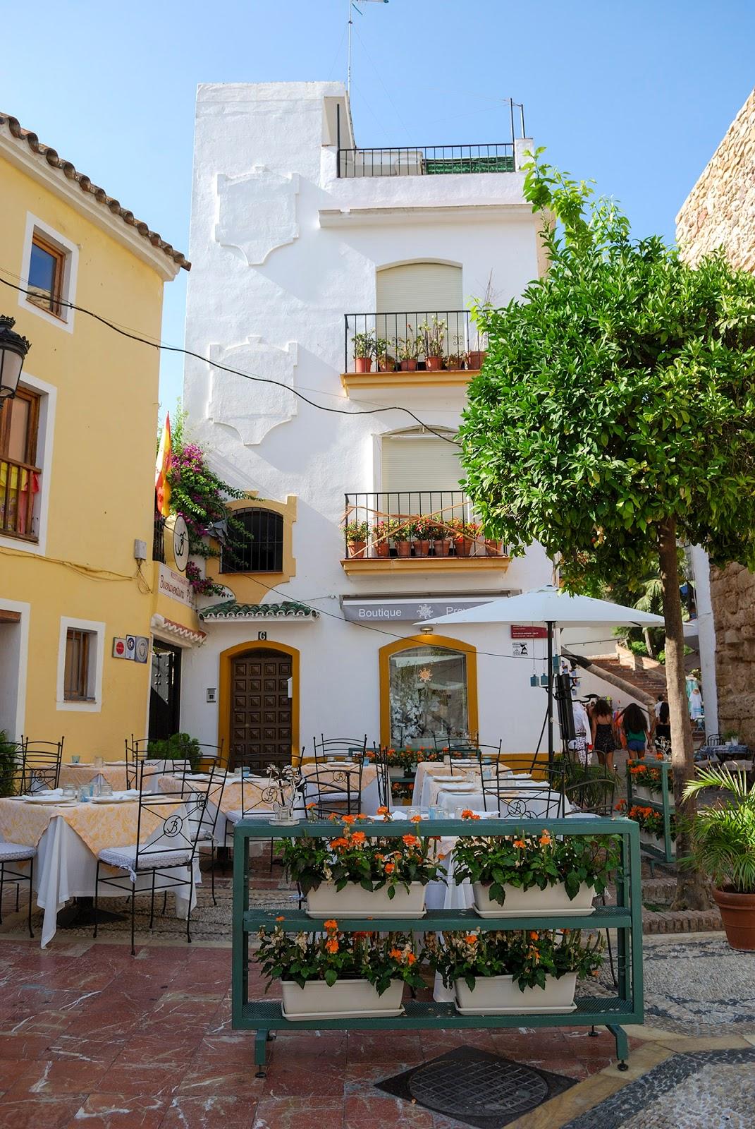 old town marbella malaga spain