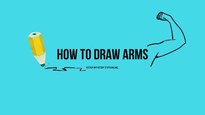 How To Draw Arms: 6 steps