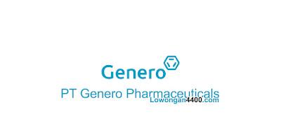 Lowongan Kerja PT Genero Pharmaceuticals Jababeka Cikarang