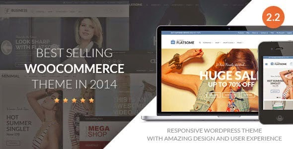 Download Free Flat v2.2.3 Themeforest Responsive WooCommerce Theme
