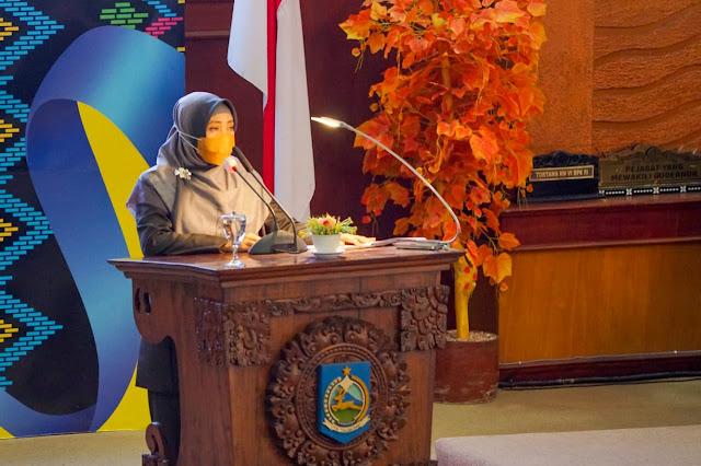 Saat Menghadiri Rapat Paripurna, Wagub NTB: Ini Hasil Kerjasama Pemda Dan DPRD Provinsi NTB