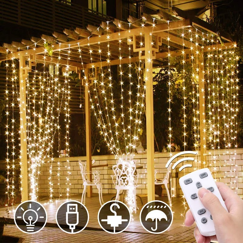 40% off LED Copper Curtain Light