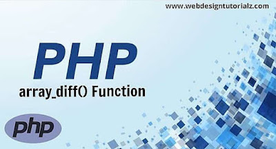 PHP array_diff() Function