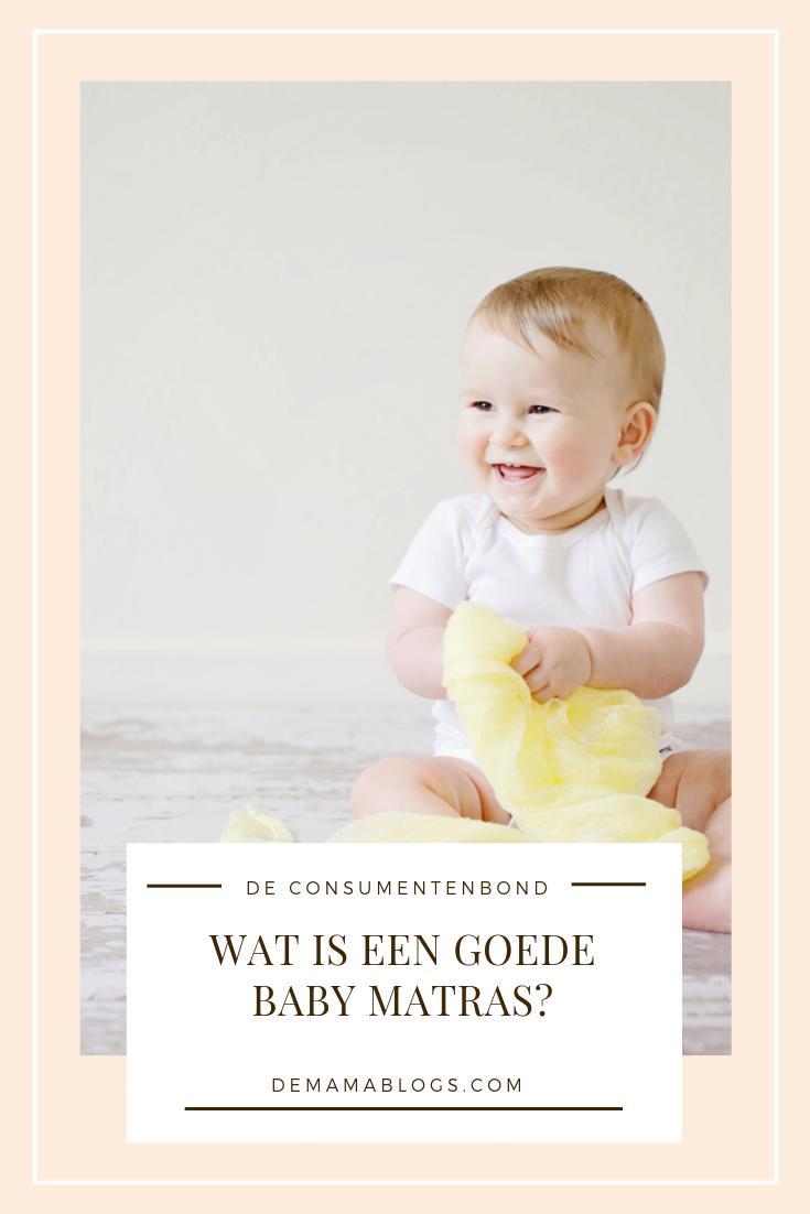 Baby matras volgens Consumentenbond