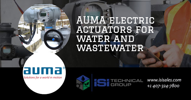 Electric Actuators for the Water and Wastewater Industry