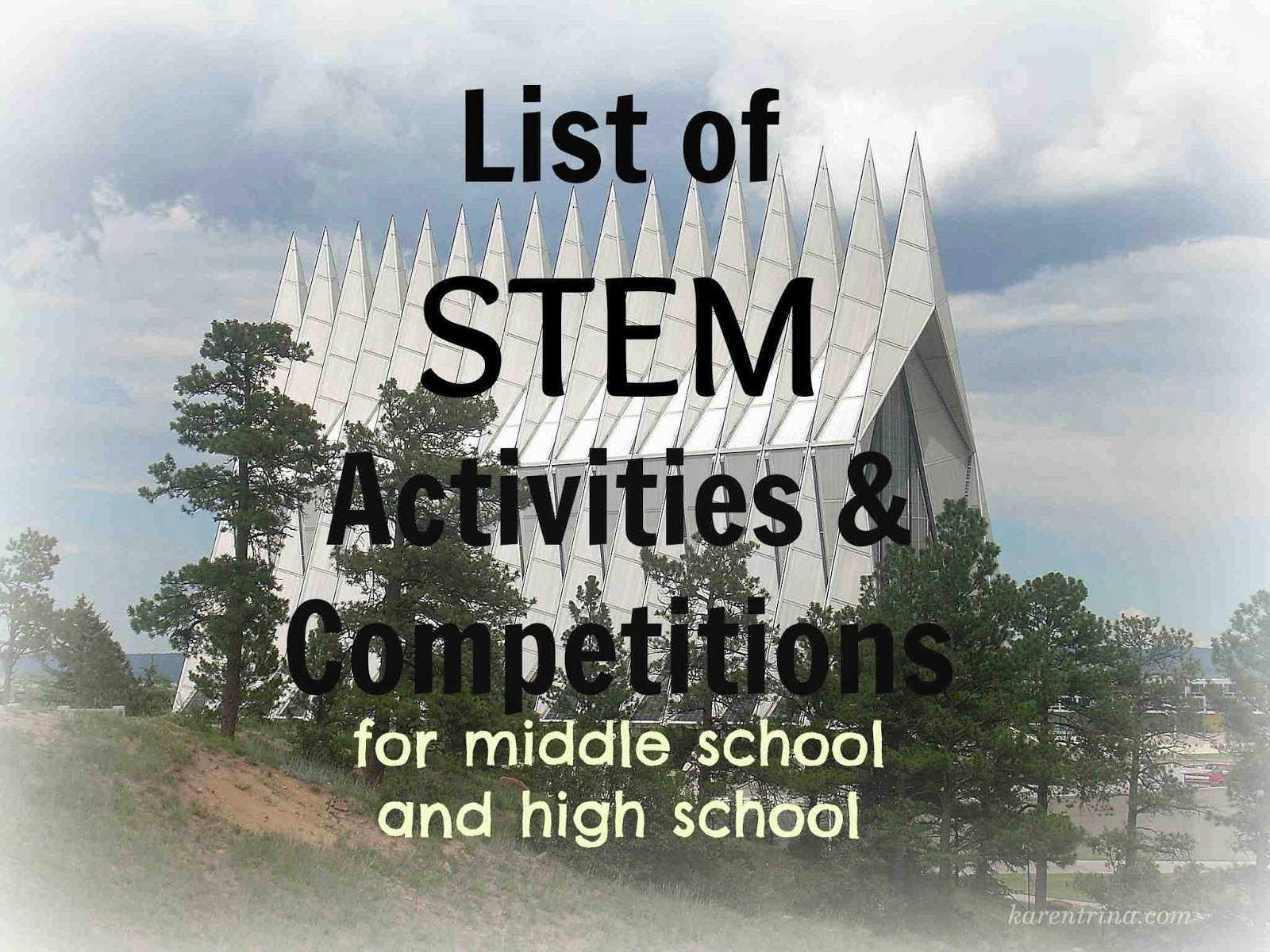 Karentrina Childress Stem Activities List