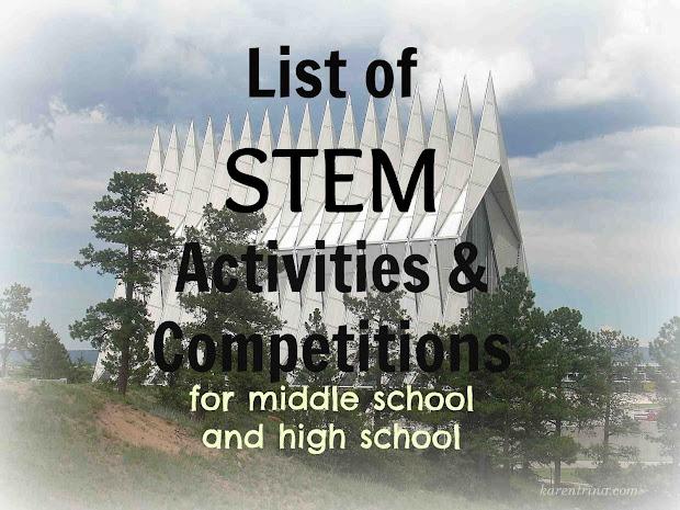 Karentrina Childress Stem Activities List