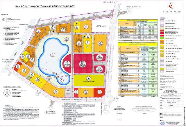 Quy hoạch khu đô thị thành phố giao lưu