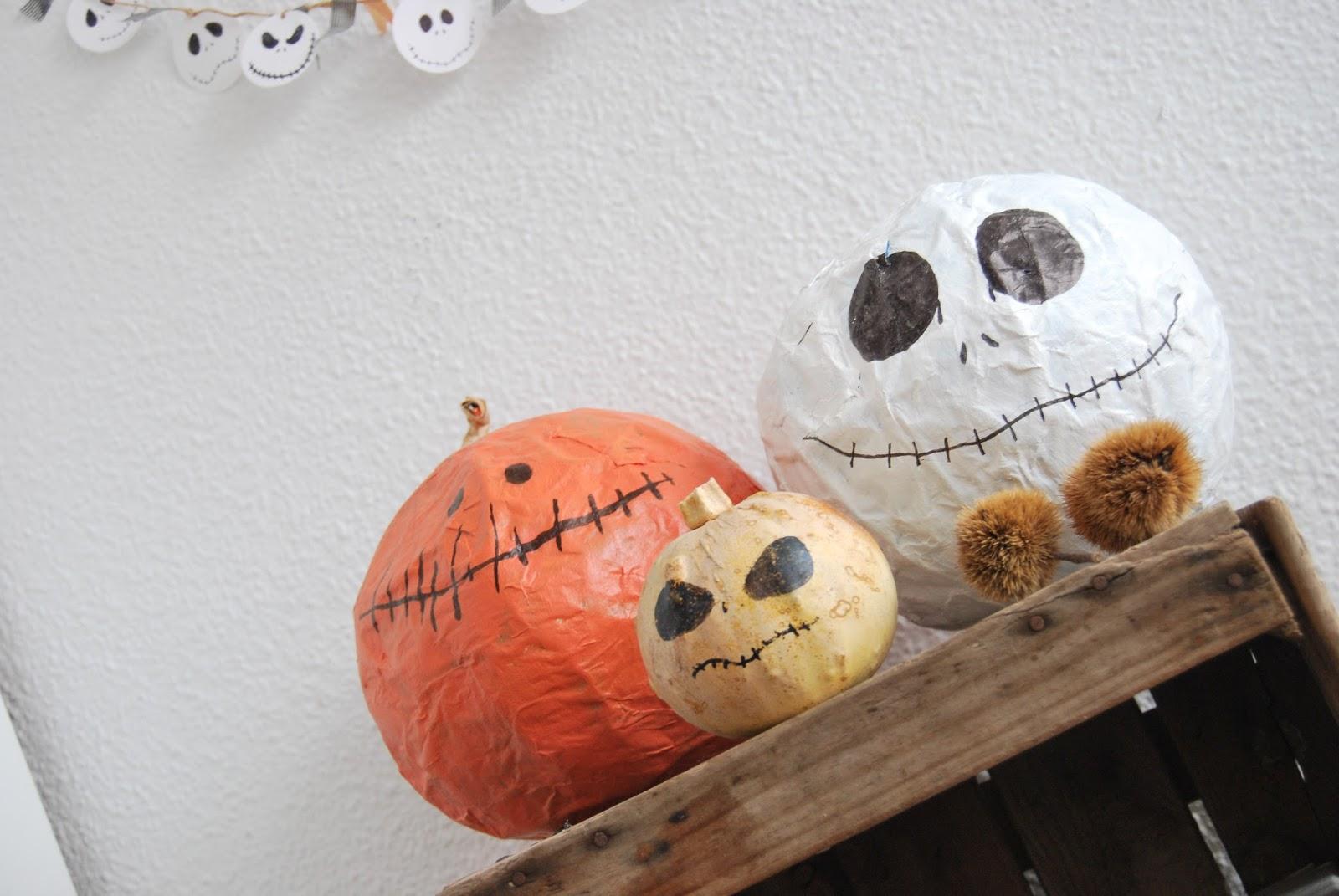 Calabaza fácil para hacer con niños este Halloween - Handbox Craft ...