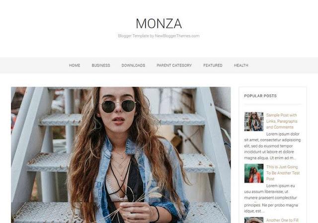 Monza Blogger Theme