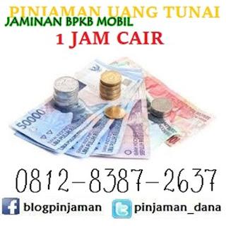 Pinjaman jaminan bpkb mobil tanpa bi checking